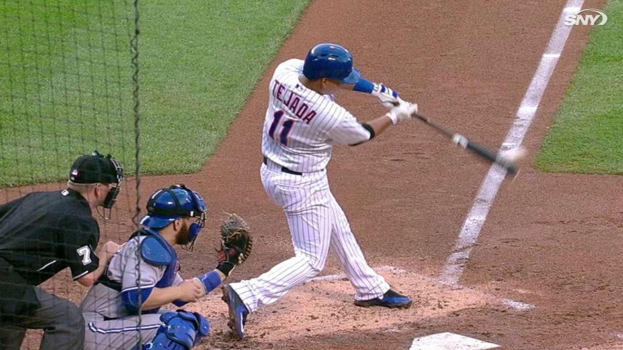Matt Harvey y los Mets se impusieron a los Azulejos