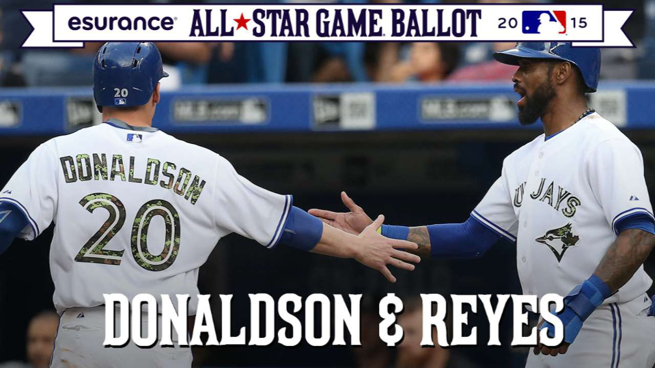 #ASGWorthy: Donaldson, Reyes flying high
