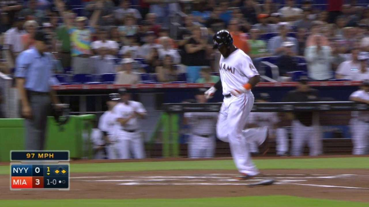 Realmuto's back issue prompts Miami moves