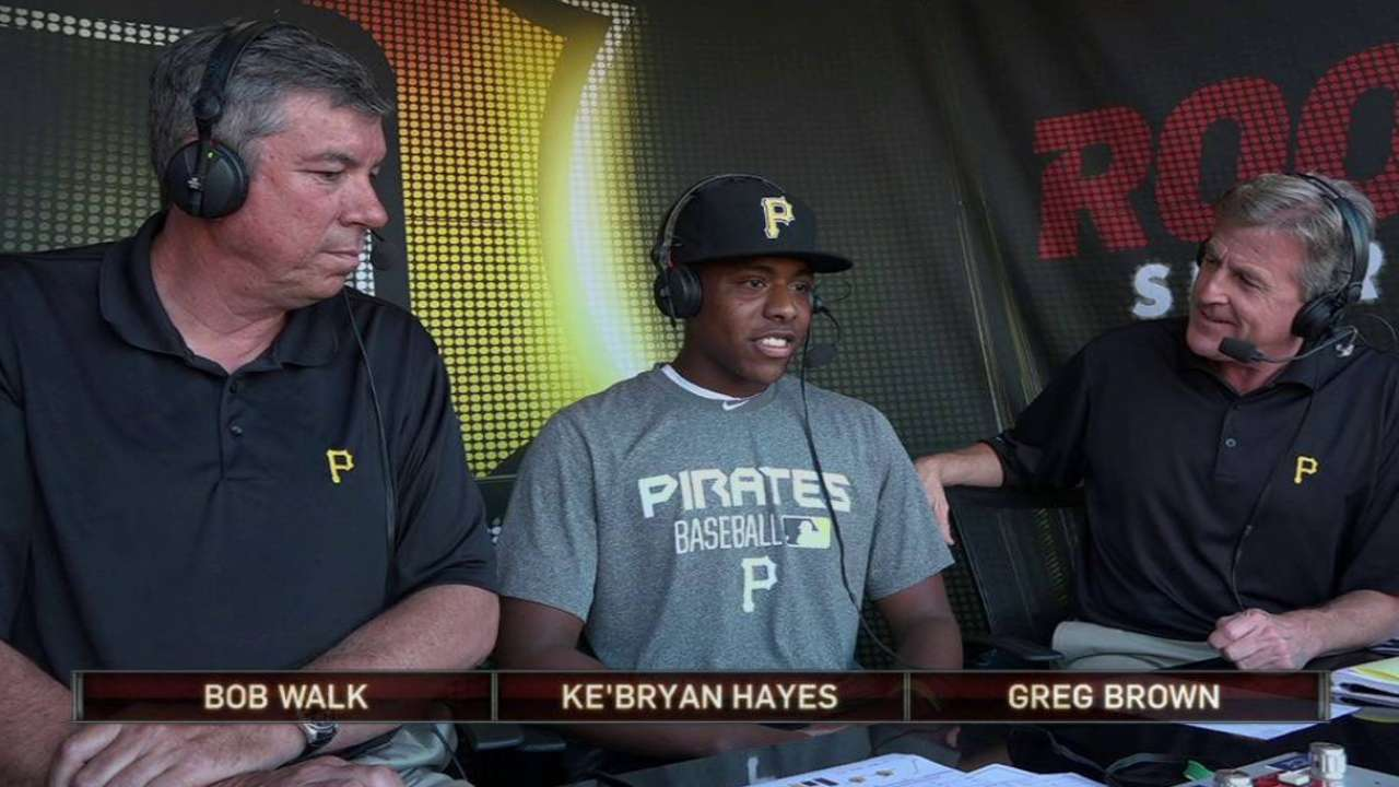 Pirates finalize deal with Draft pick Hayes