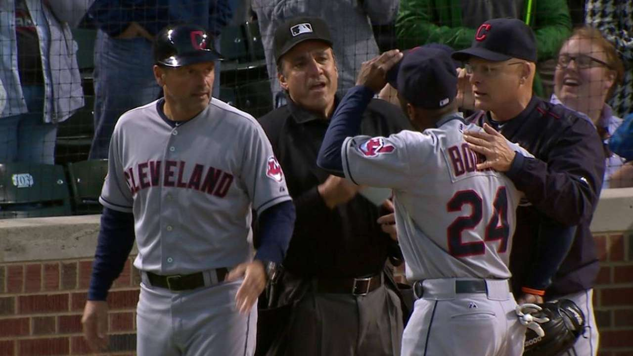 Bourn sits out CLE-TB finale for suspension