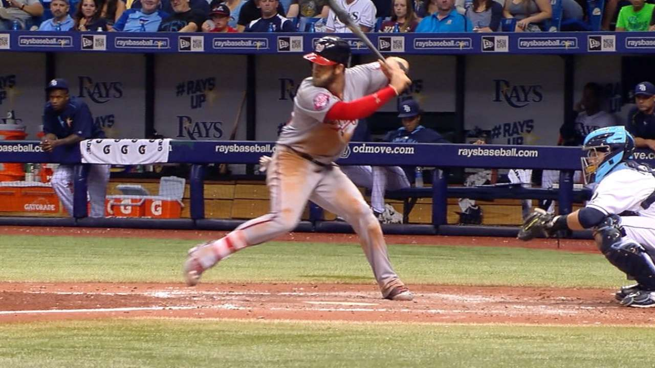 Harper crushes 22nd HR to tie career high