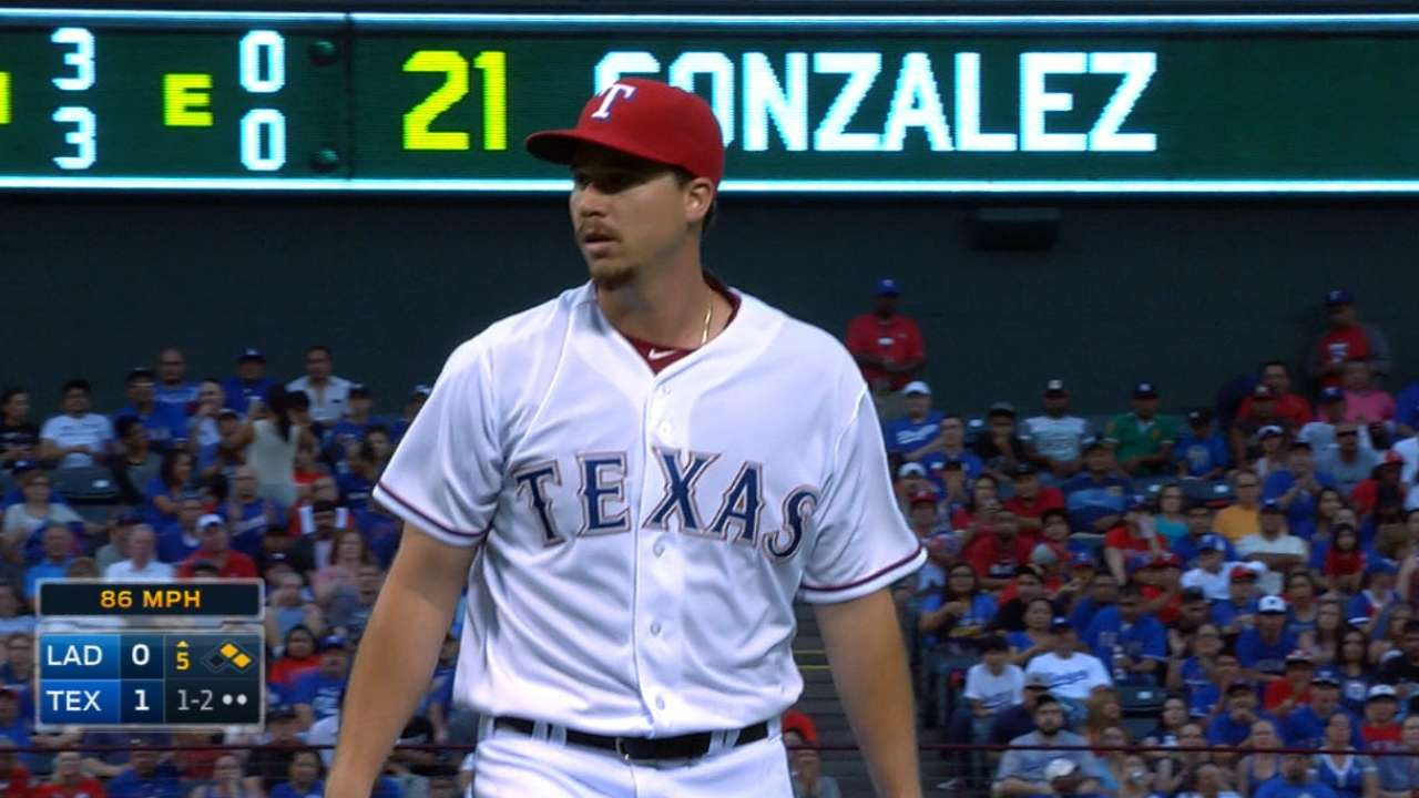 Gonzalez's great outing