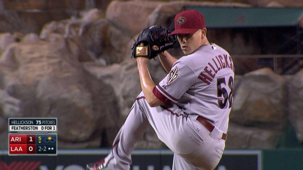 Hellickson bemoans pitch to Pujols