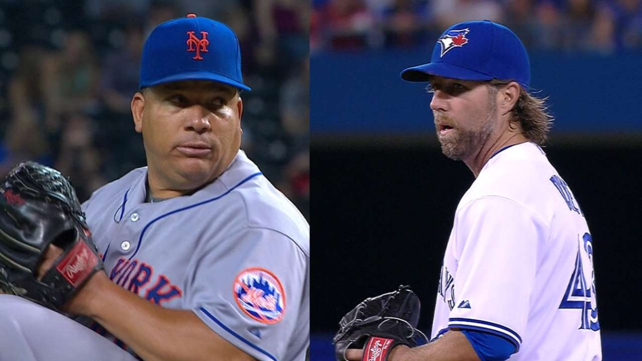Colon, Dickey ready to face off