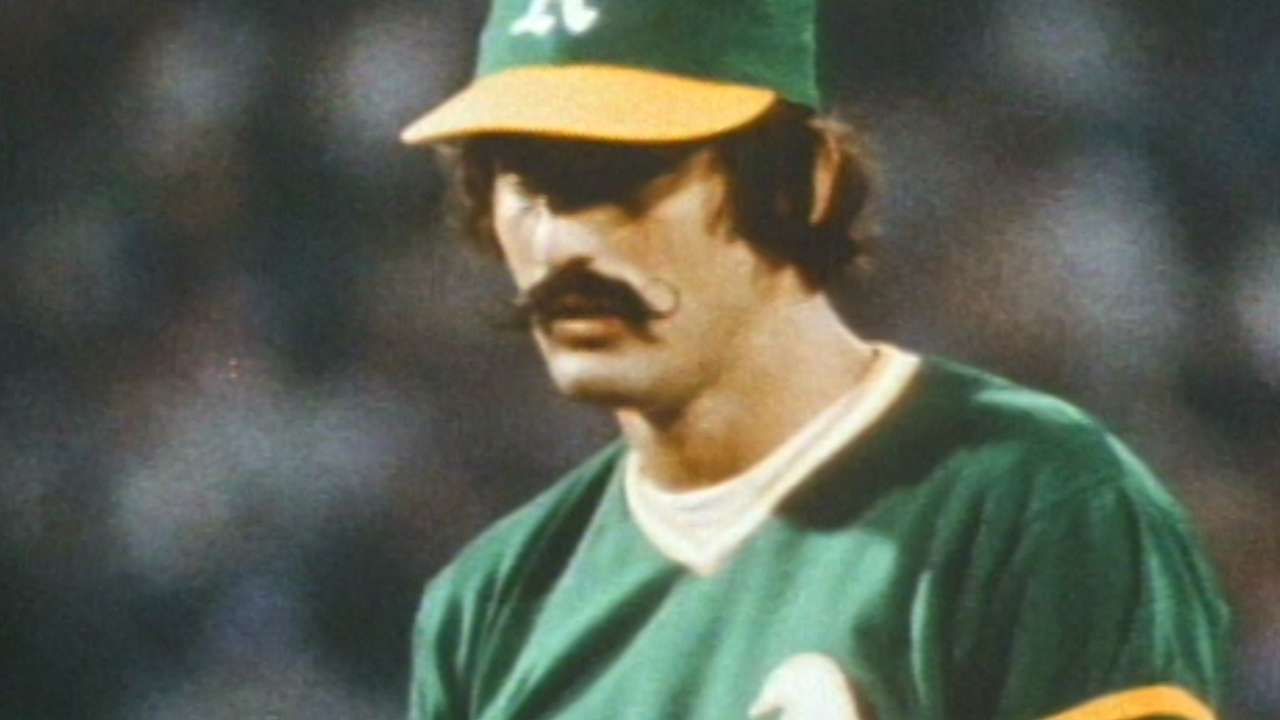 TBT: '72 A's hold memorable 'Mustache Day'
