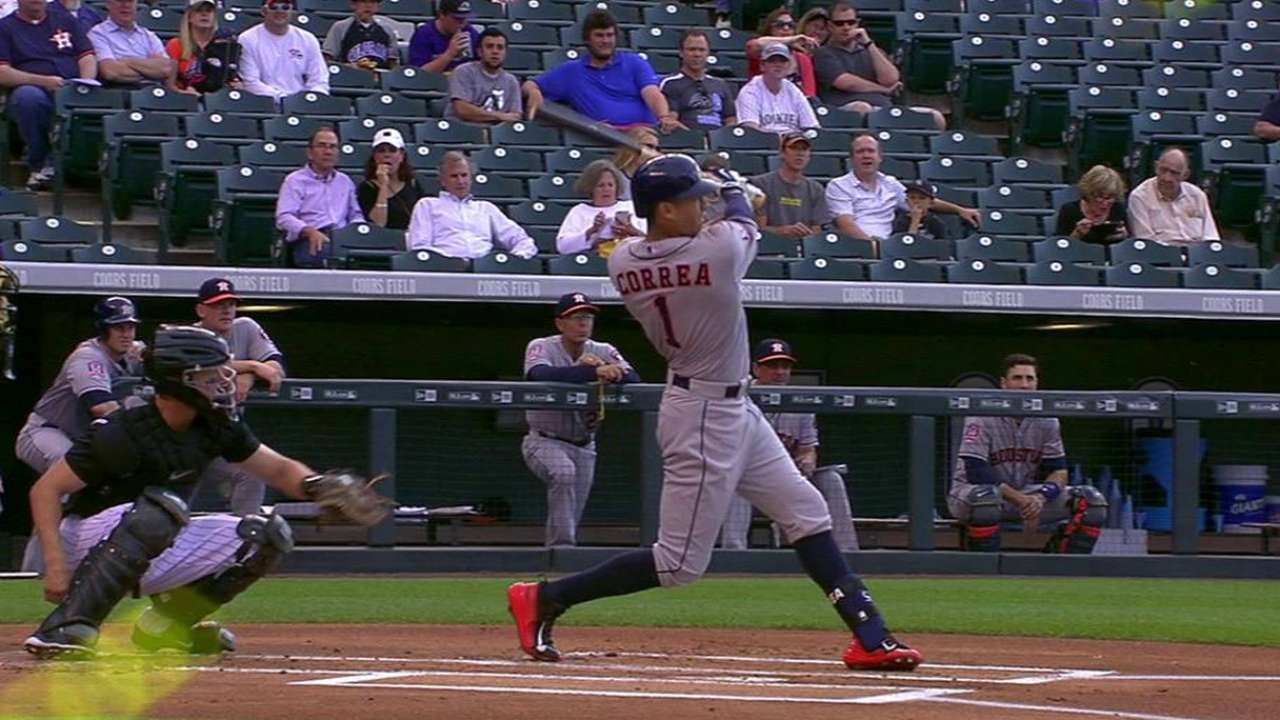 Correa's two-run shot