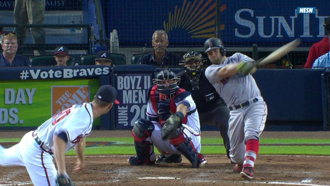 Napoli's homer a good sign for Red Sox