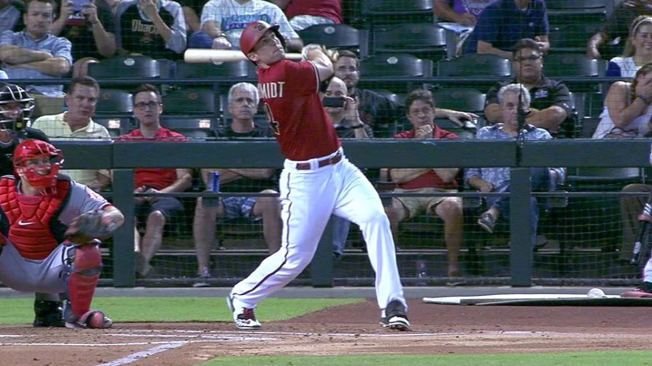 Goldschmidt hits 19th homer