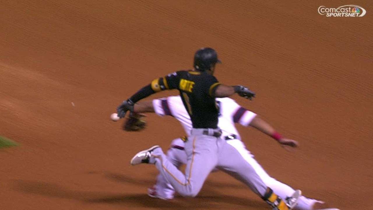 Ramirez's inning-ending throw
