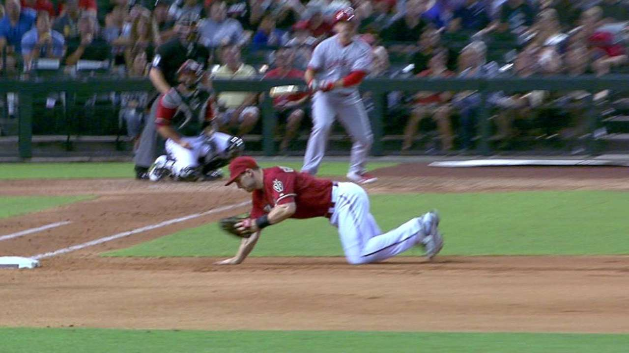 Goldy snags it, ends threat