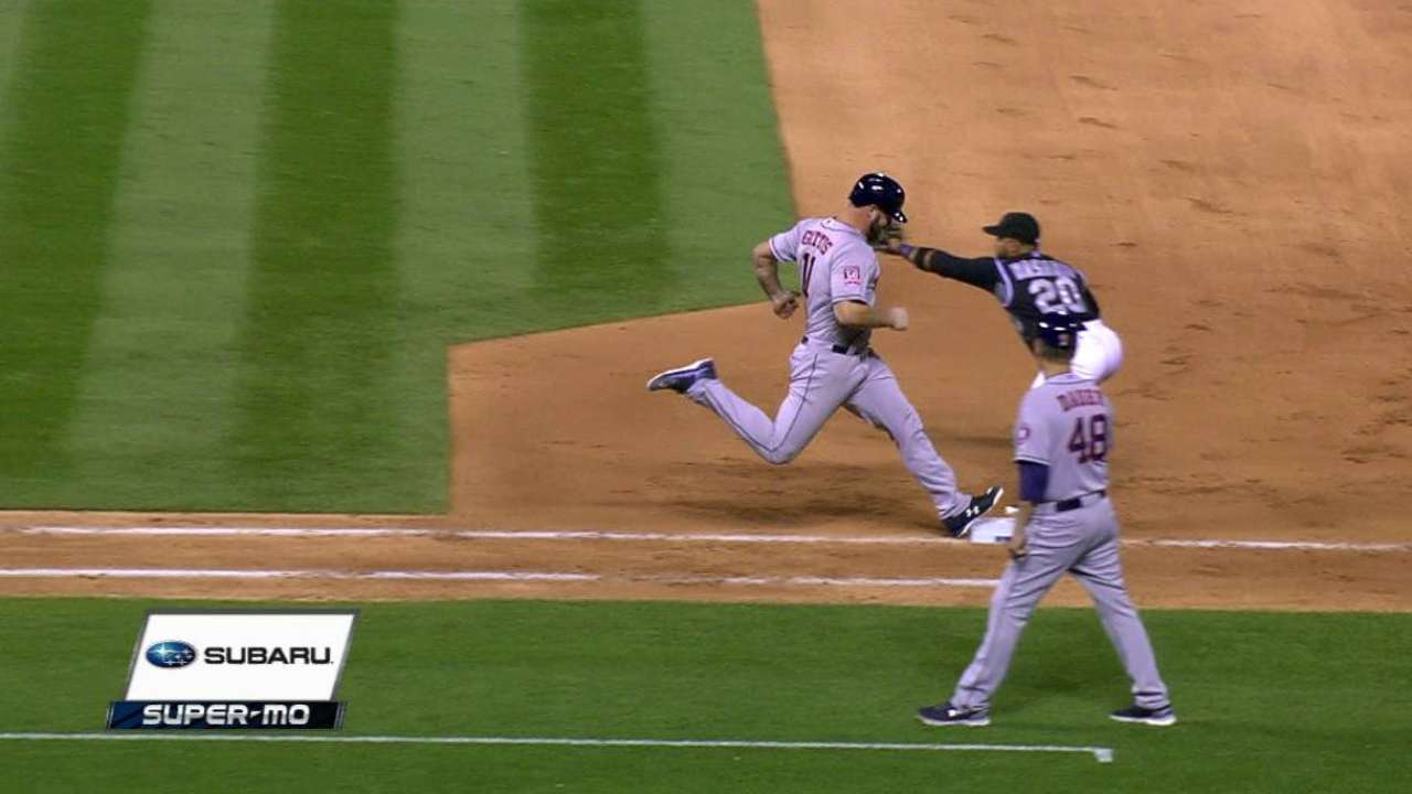 Miller gets Miller on close play