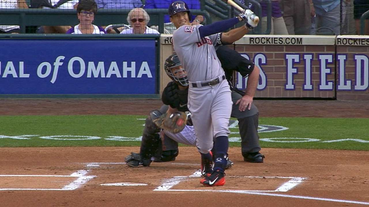 Must C: Correa's long home run