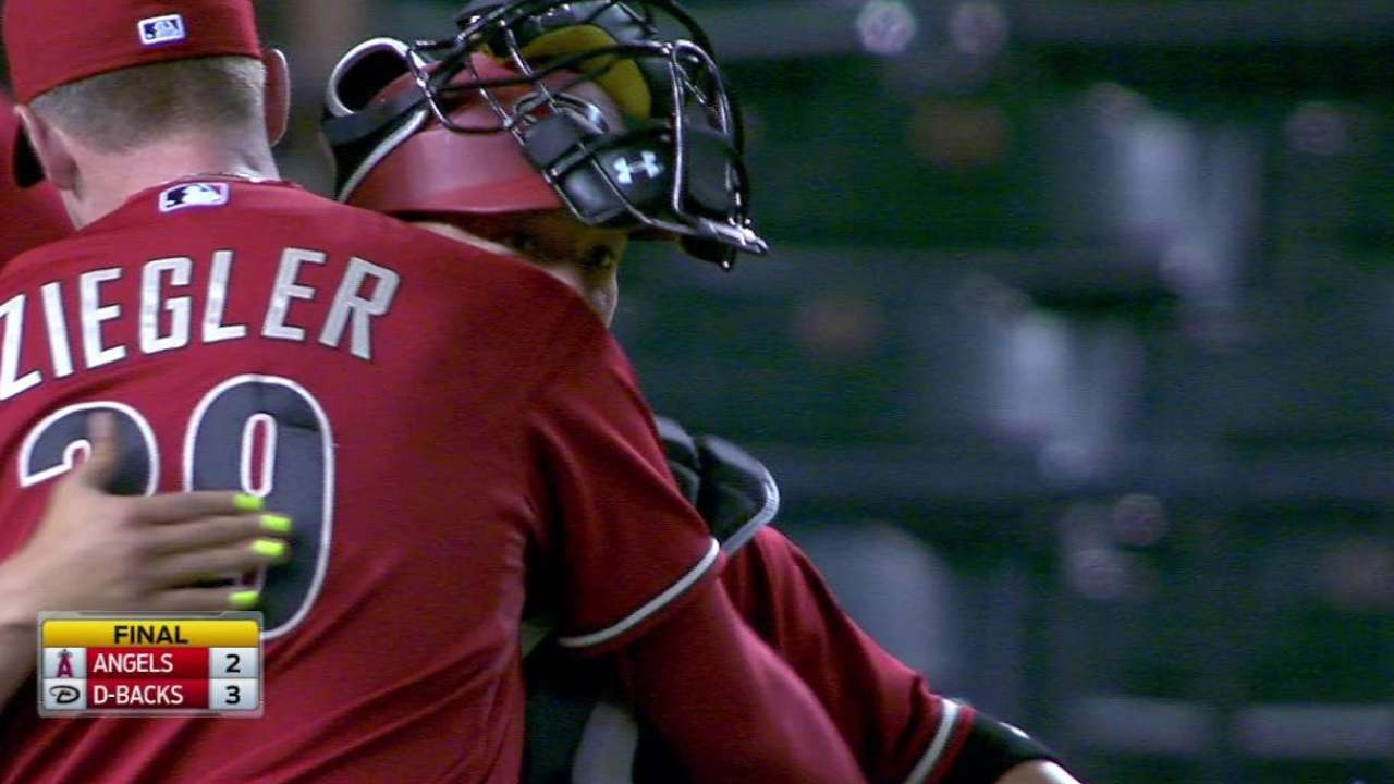 Ziegler notches the save