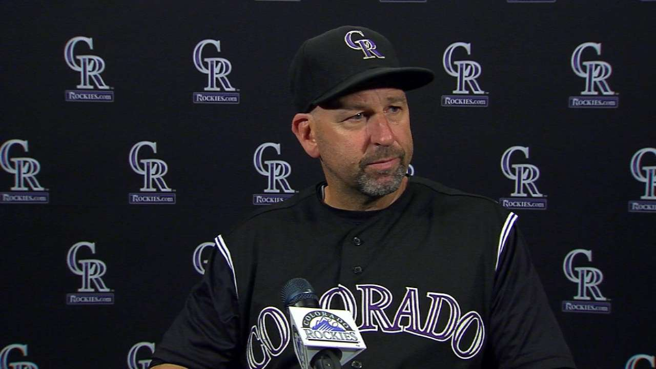 Weiss on loss to Astros