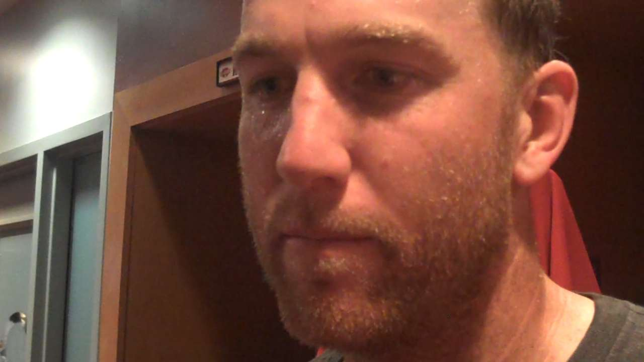 Frazier, Bruce on Reds' 8-4 win