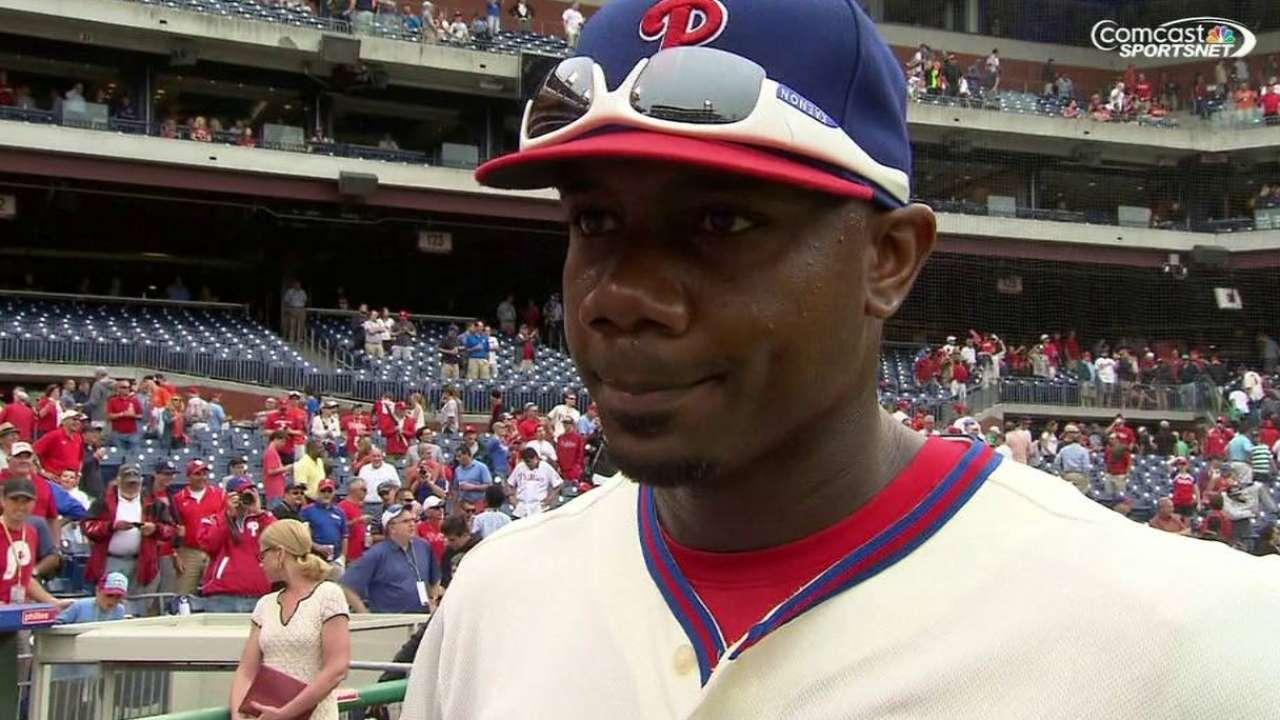 Howard on Phillies' win