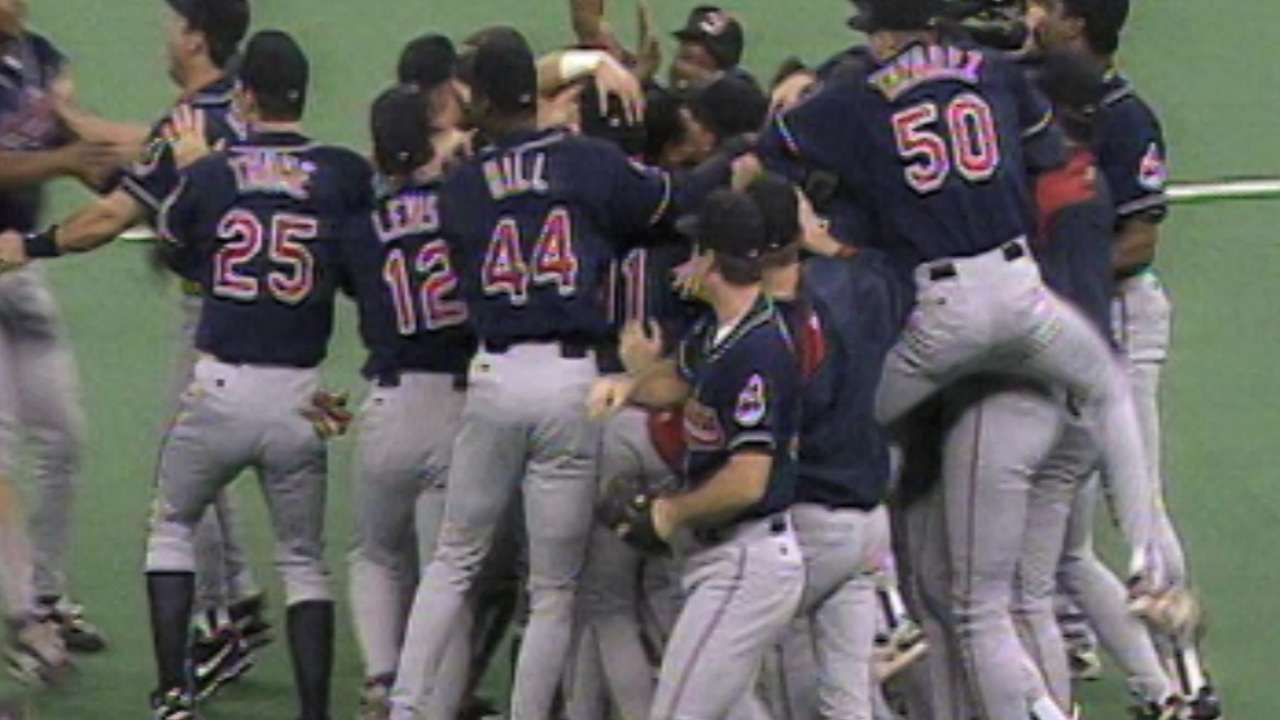 Tribe's run in 1995 was magical, memorable