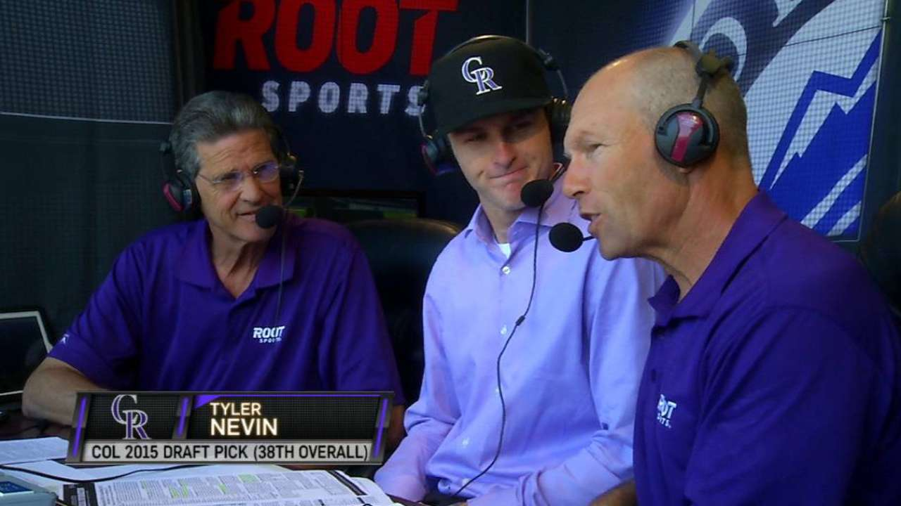 Nevin on signing with Rockies