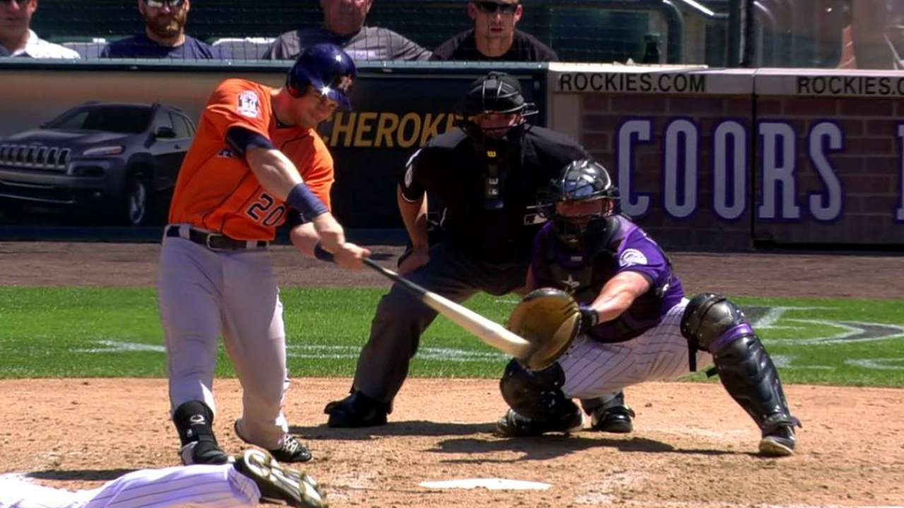 Tucker's RBI double