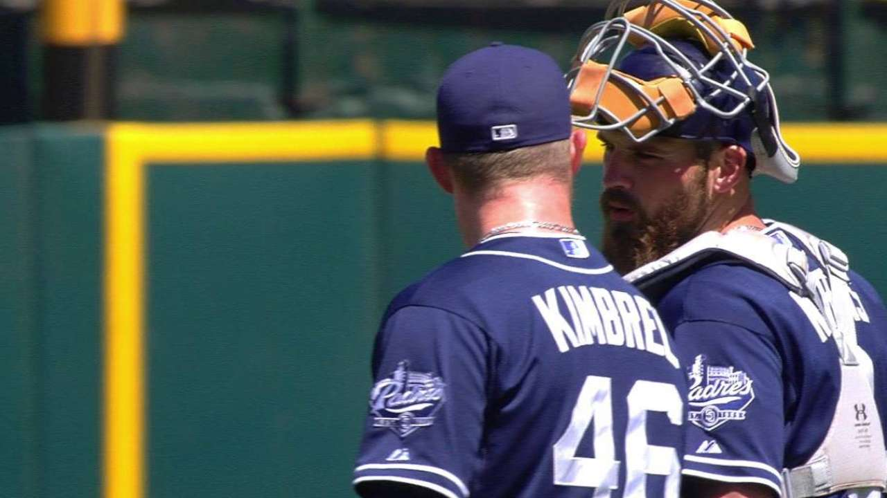Murphy notches first Majors win with Padres