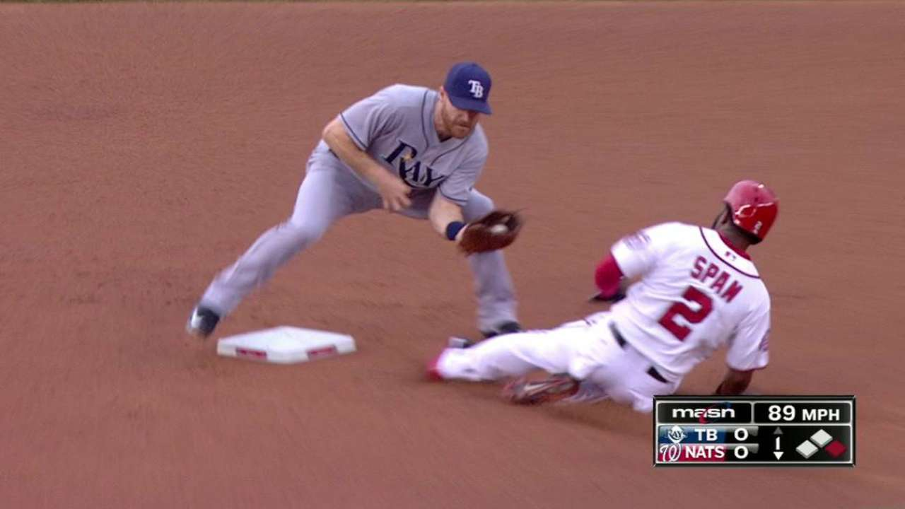 Span gets steal after review