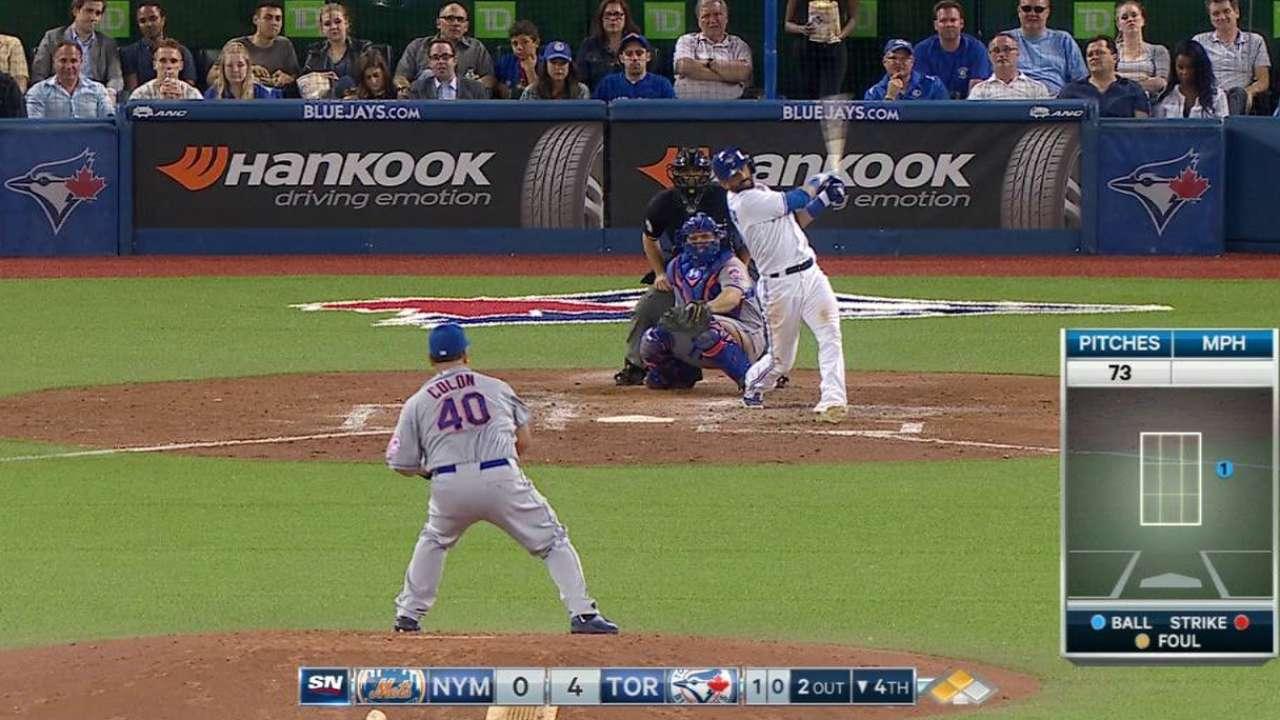 Dickey frena a su ex equipo en triunfo de Azulejos ante Mets