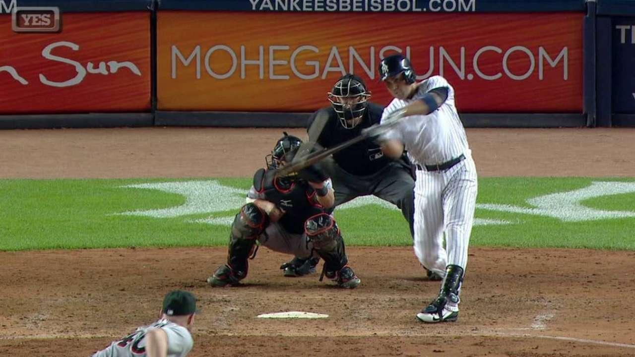 Beltrán se vuela la cerca y Yankees doblegan a Marlins