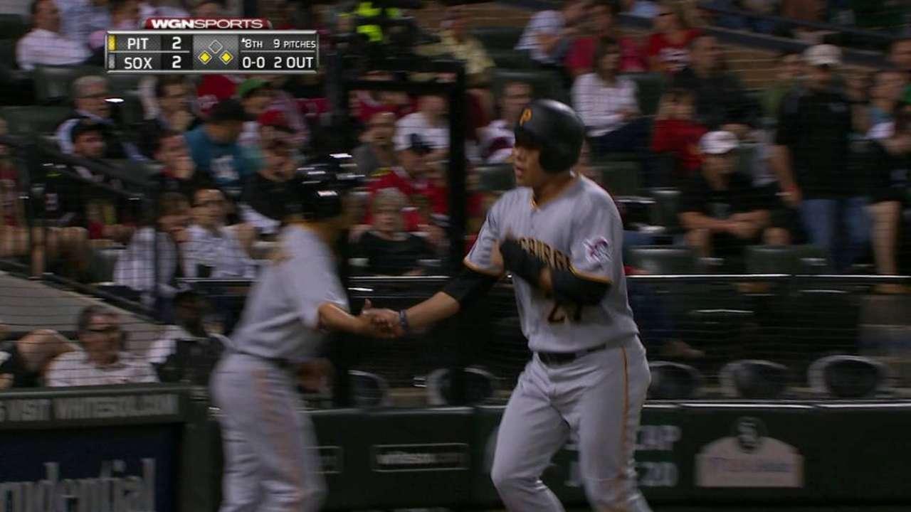 Piratas vencen a White Sox y Cole llega a 11 triunfos