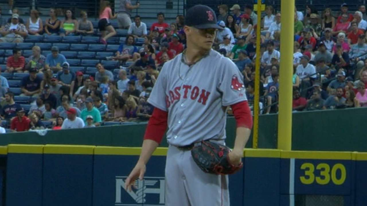Brock, Buchholz lead Red Sox over Braves