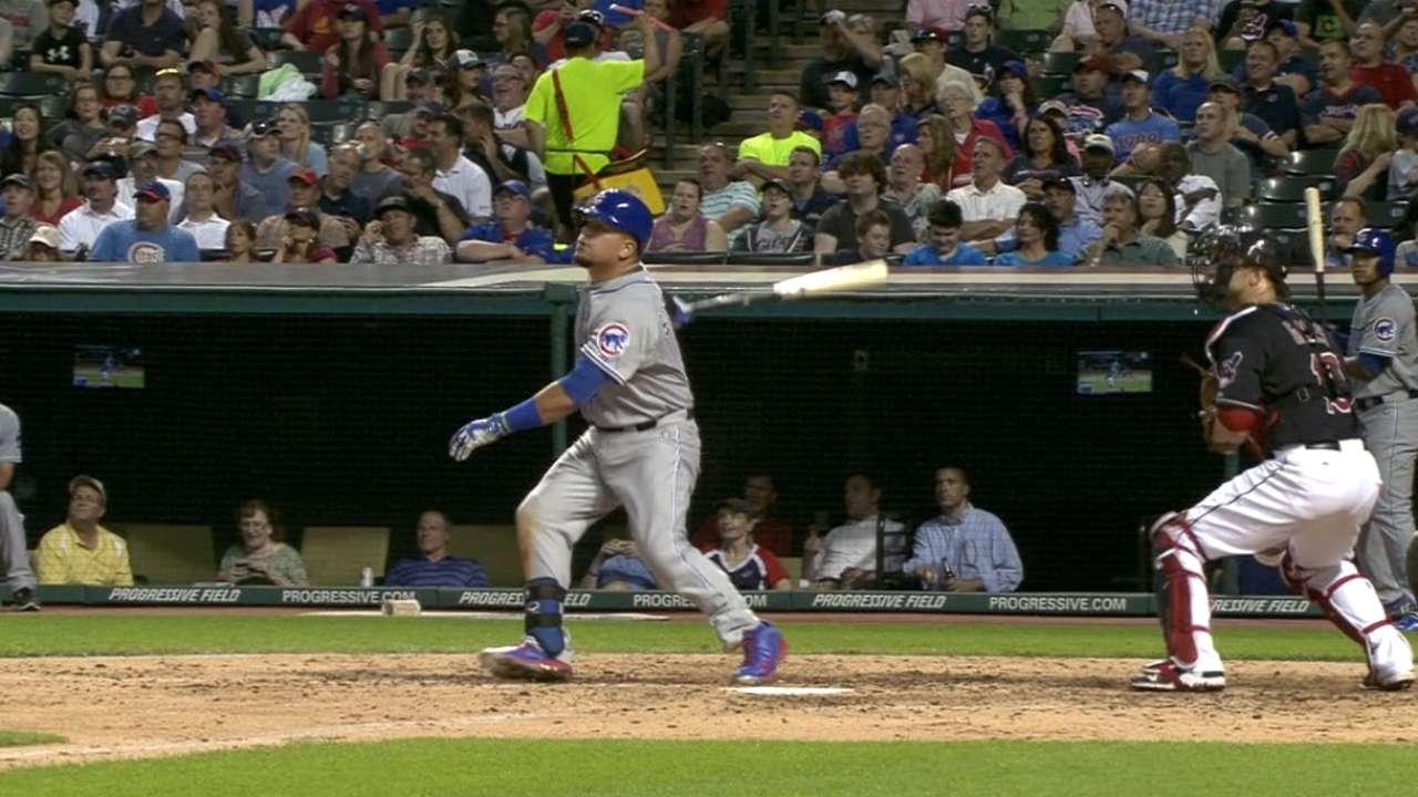 Schwarber taking advantage of brief MLB stint