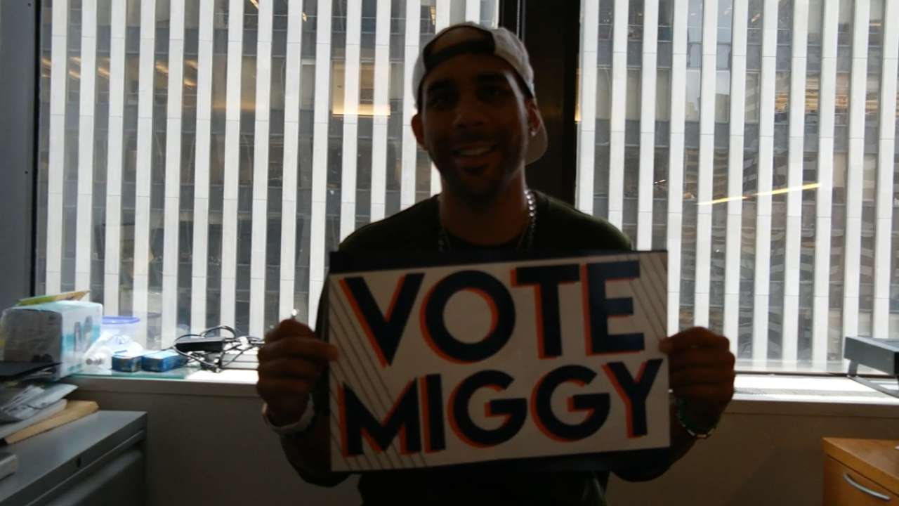 Price says to vote Miggy