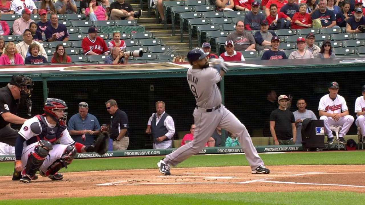 Homers power Karns, Rays past Indians