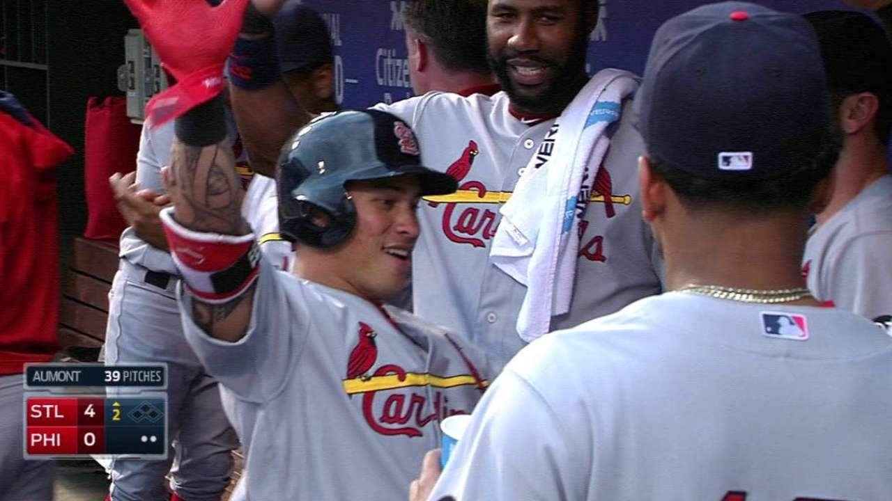 Wong's two-run homer