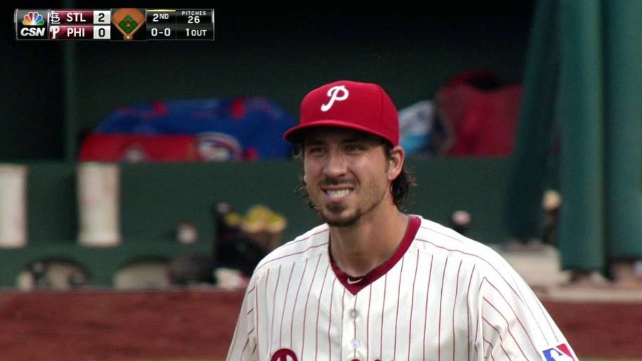 Aumont strikes out Grichuk