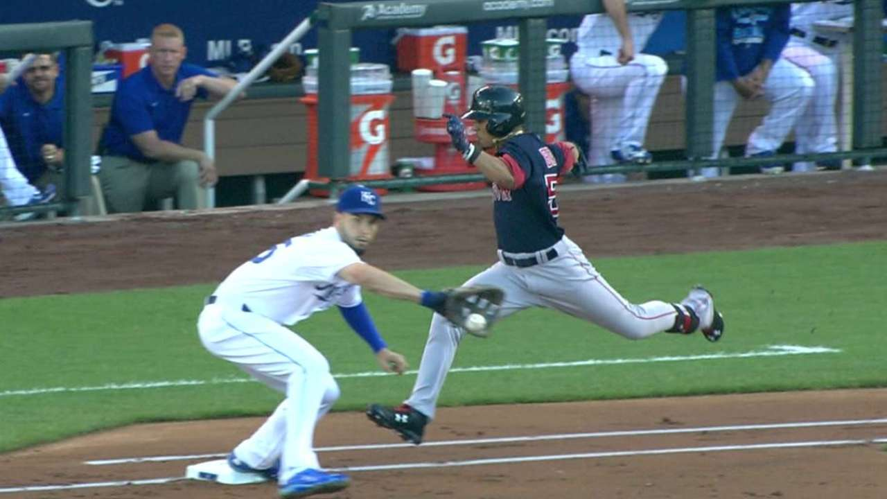 Betts gets single after review