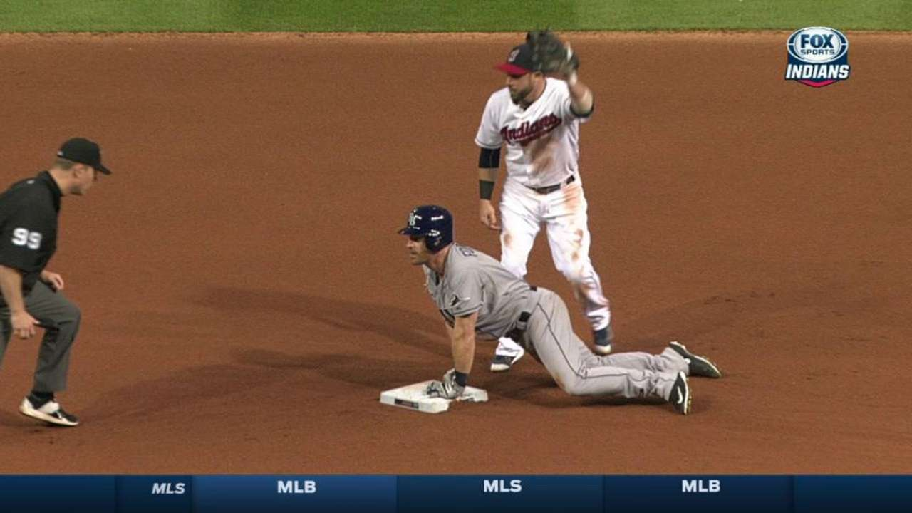Brantley throws out Forsythe