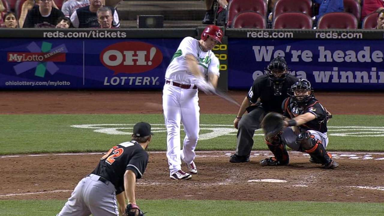 Bruce's two-run double