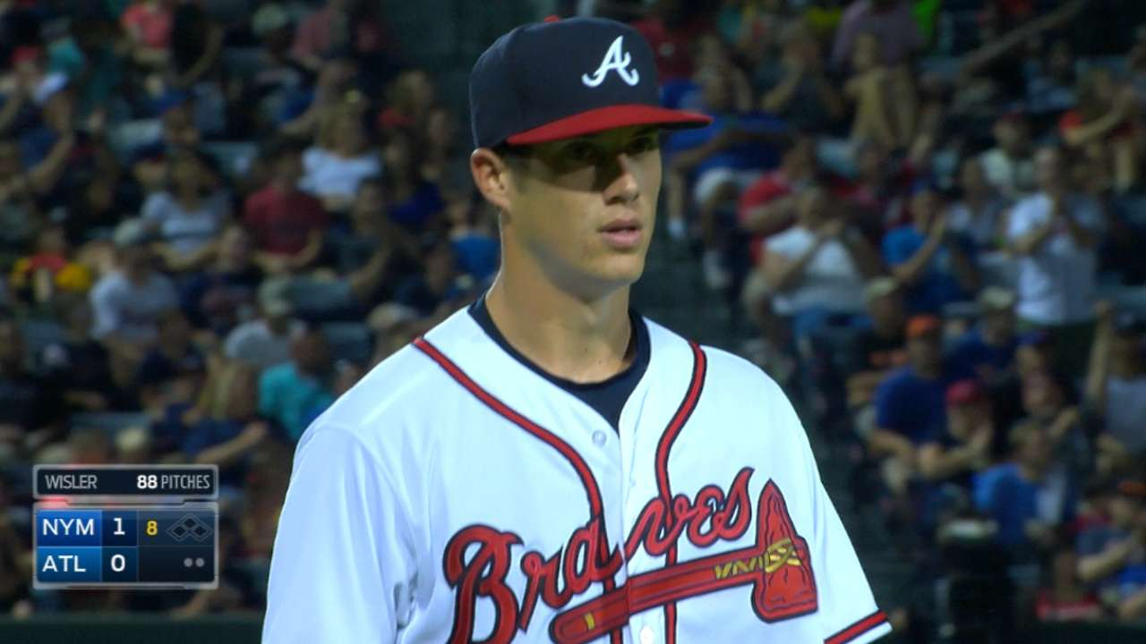 Wisler appreciates additional time in Minors