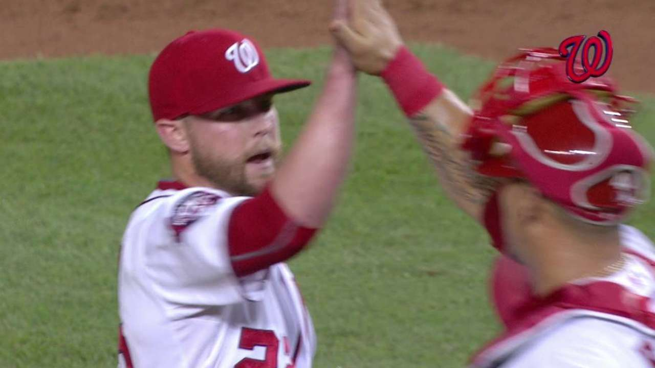 Built to close: Storen relishes life on the line