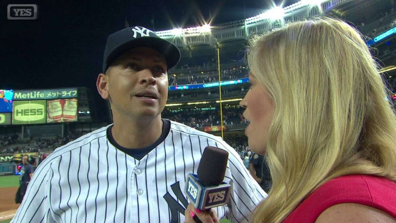 A-Rod discusses his 3,000th hit