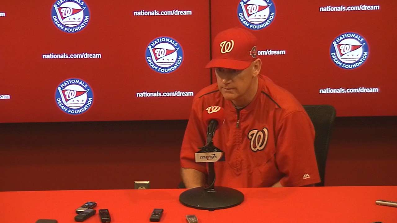 Williams on Nationals' 4-1 win