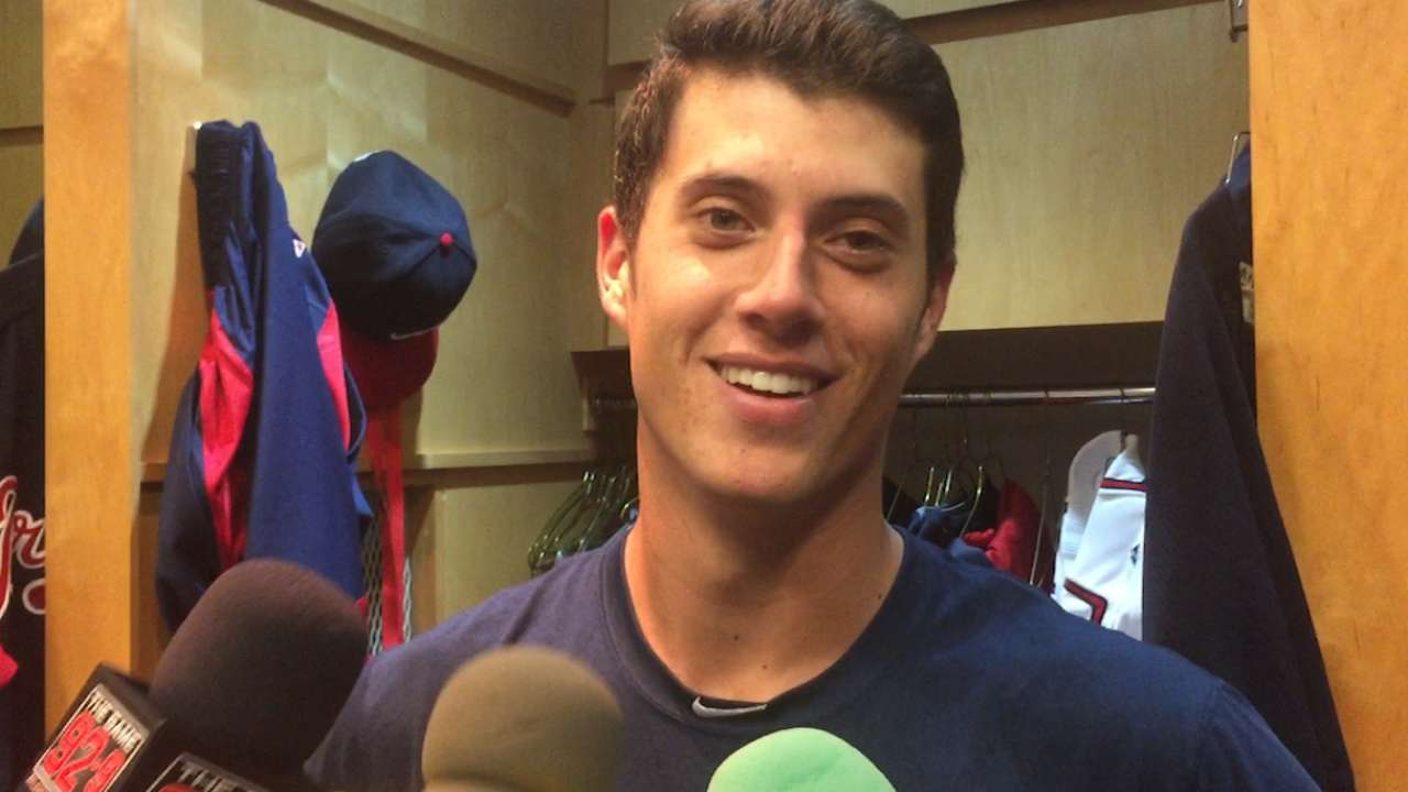 Wisler on on first career win