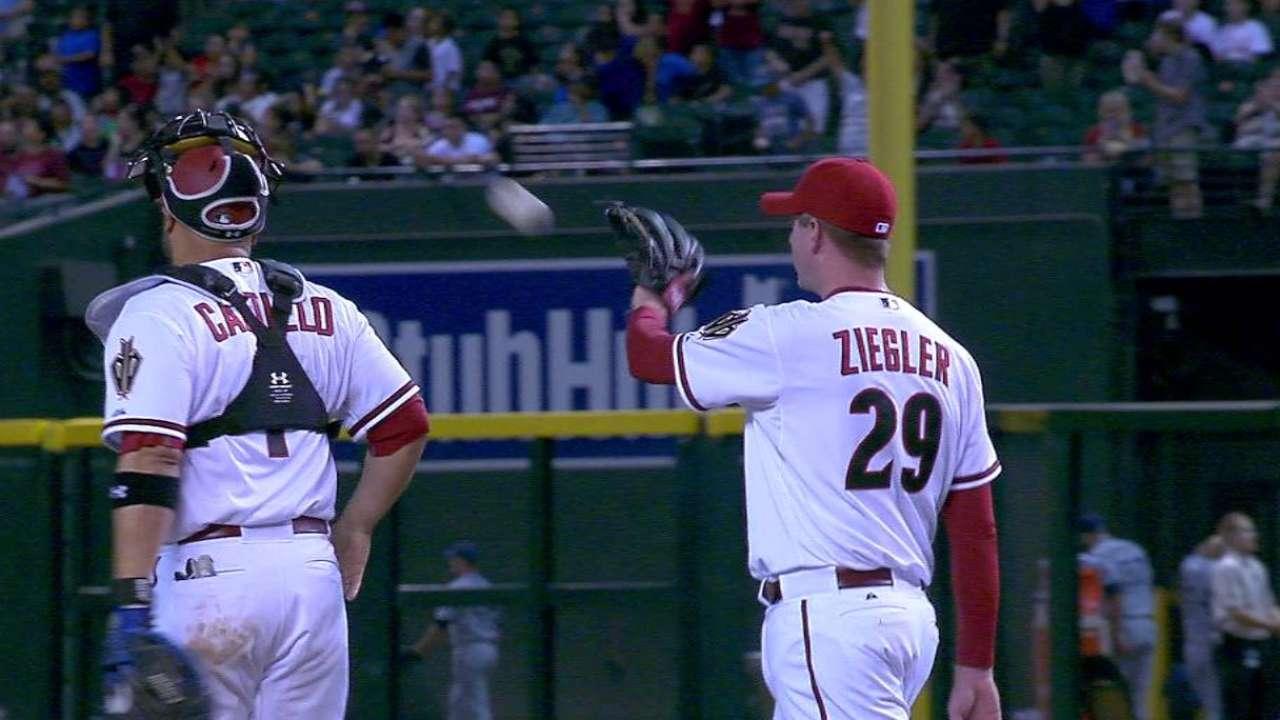 Ziegler remains baseball's unlikeliest closer