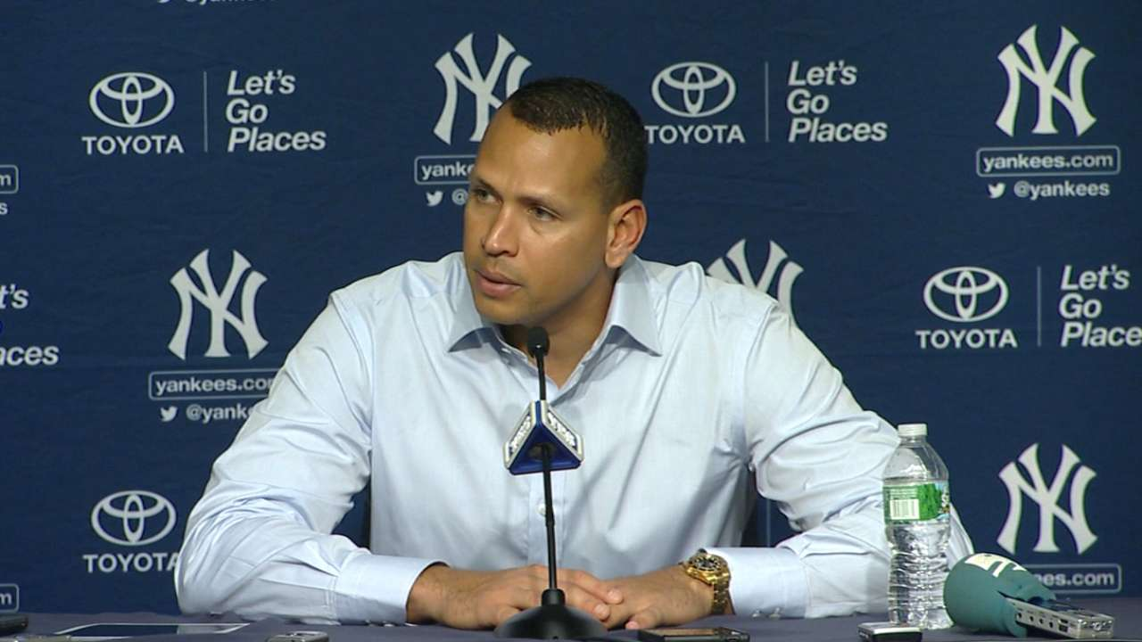 A-Rod on career hit No. 3,000