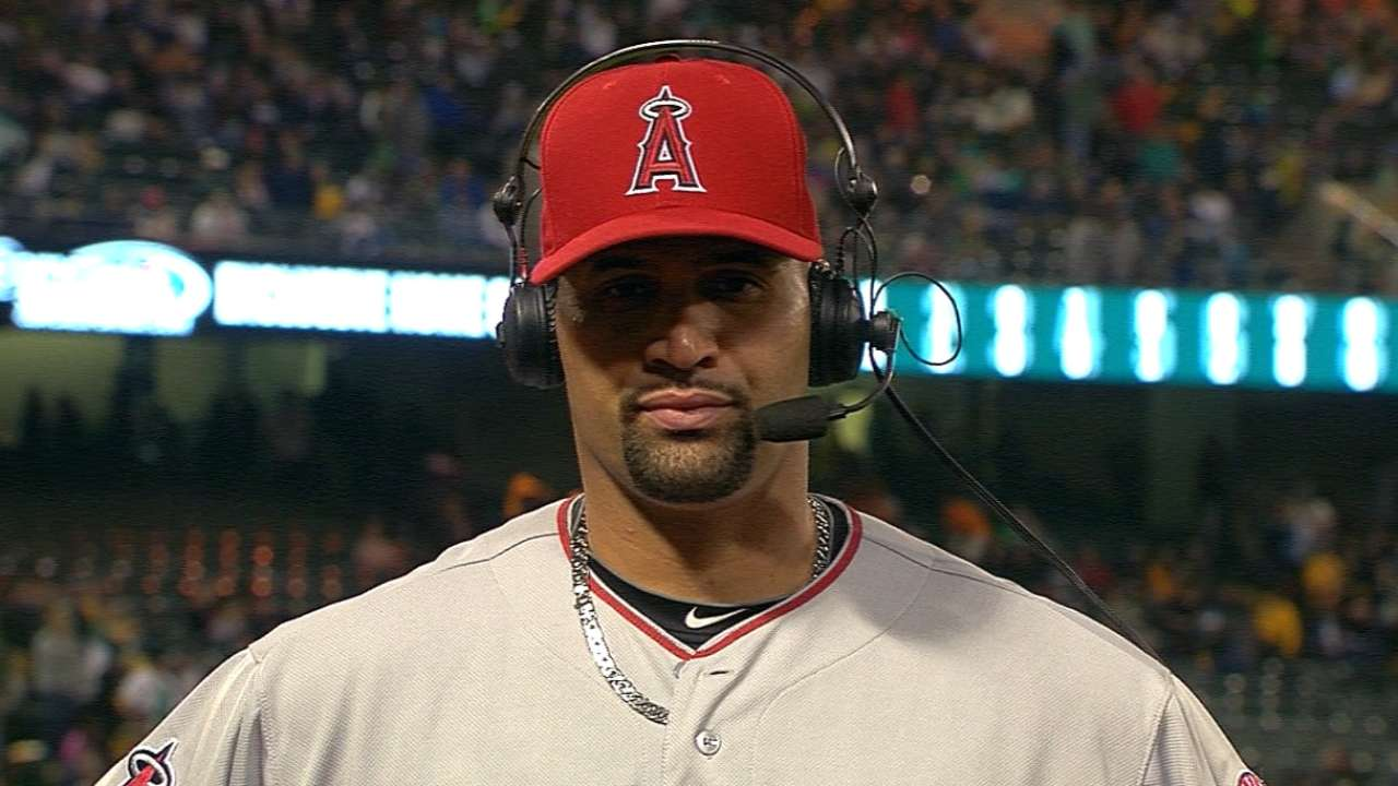 Pujols on his grand slam