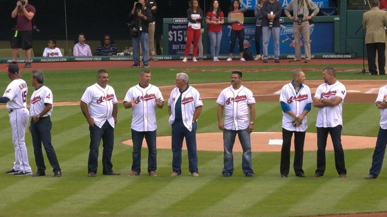 Indians celebrate 20th anniversary of '95 team