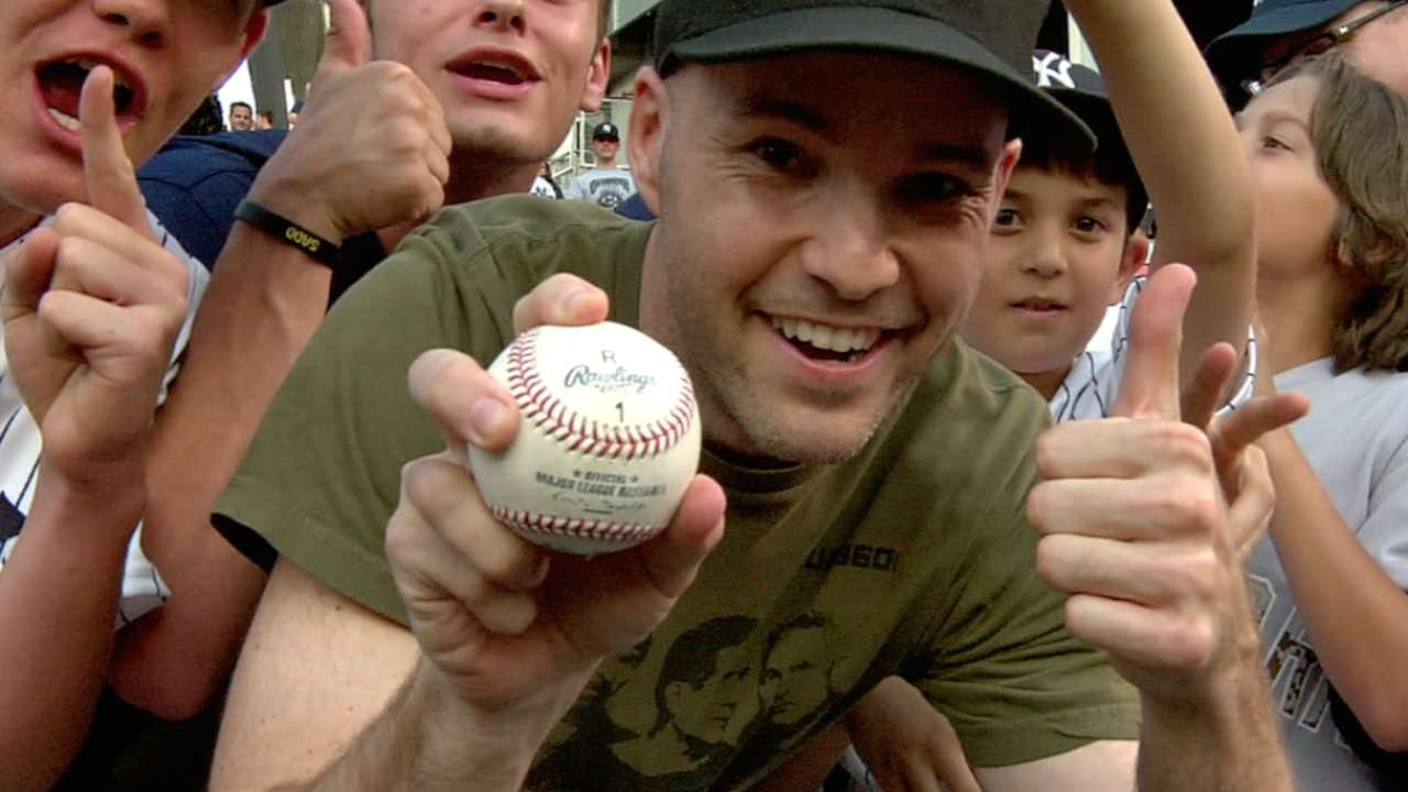 A-Rod doesn't get 3,000th hit ball