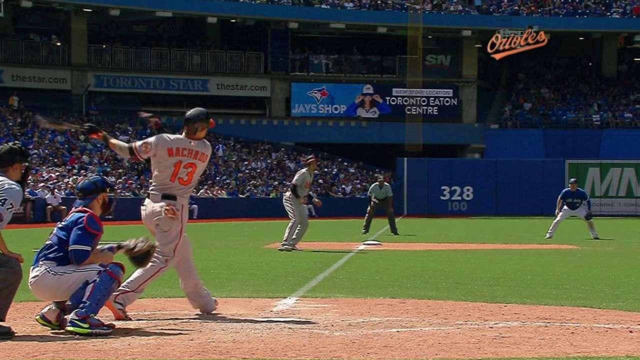Orioles reaccionan en el noveno inning para doblegar a Toronto