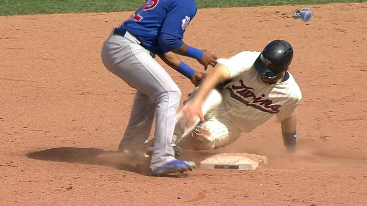 Mauer out after overturned call